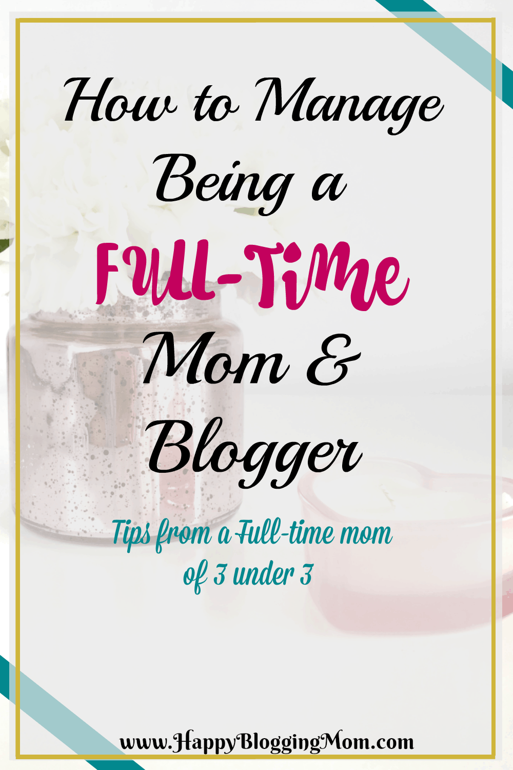 Full-Time mom and blogger