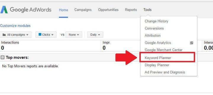 Google Planner Step 3