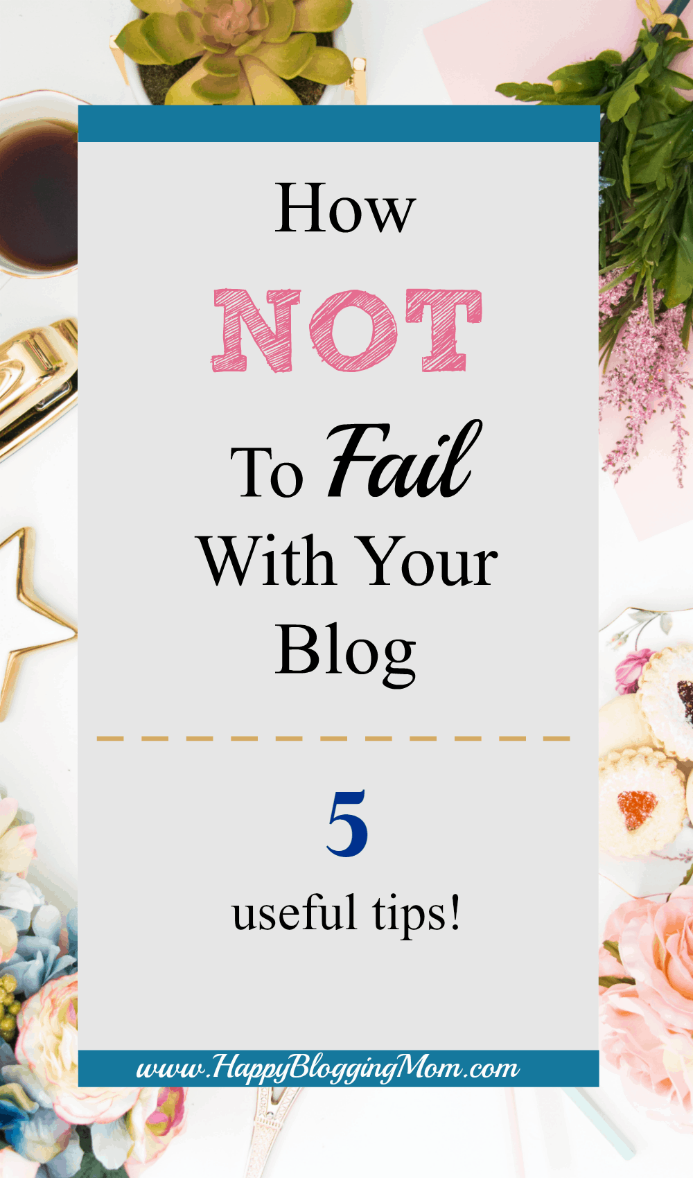 How NOT to fail with your blog