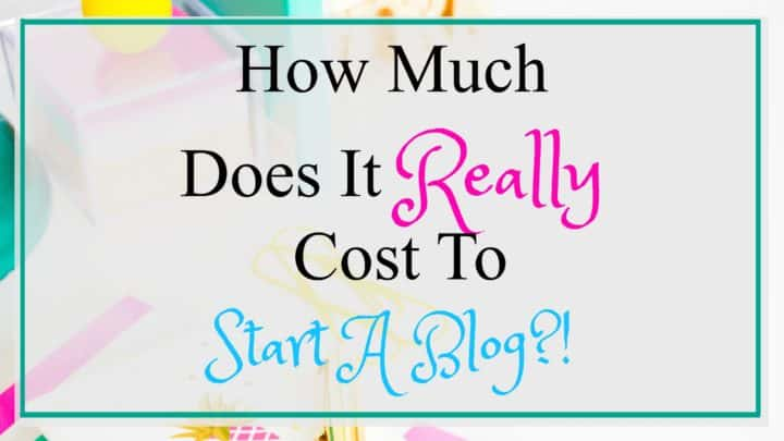How much does it really cost to start a blog featured