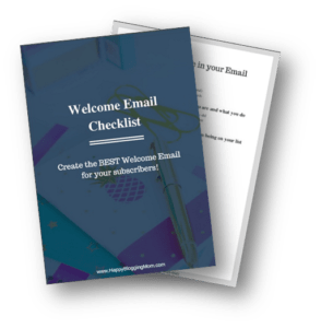 Welcome email optin