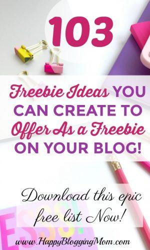 103 epic free list - post